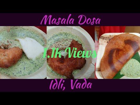 Bangalore Cafe | Masala Dosa | Idli | Vada #bangalorecafe #masaladosa#idli#vada#restaurant#explore