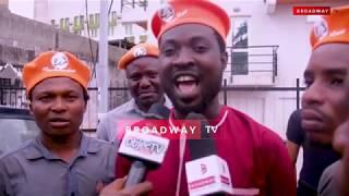#RevolutionNow Protesters Storm Fela's House Kalakuta, Demand Sowore