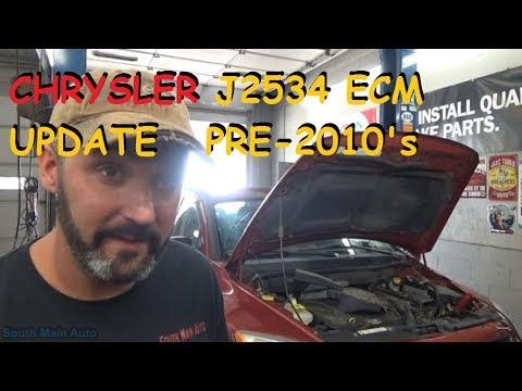 Dodge J2534 ECM Update Pre - 2010