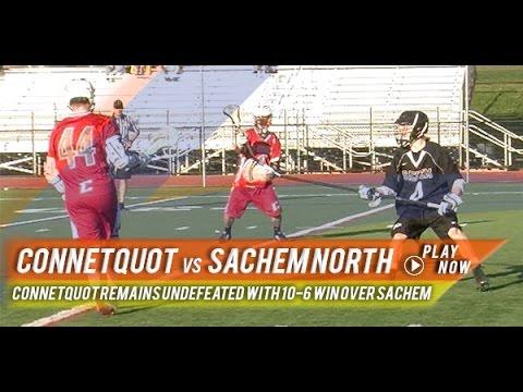Connetquot vs Sachem | 2015 High School Highlights