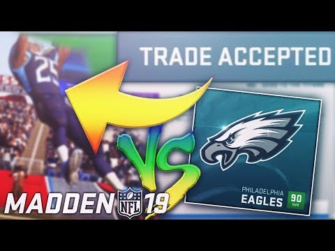 Young BEAST Receiver TRADE & Game vs. Philadelphia Eagles! Madden NFL 19 Franchise Series