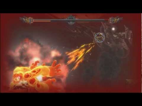 Asura's Wrath - Bossfight #4 Asura Beast vs. Olga (HD)