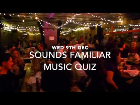 Sounds Familiar Music Quiz Back on 9th Dec