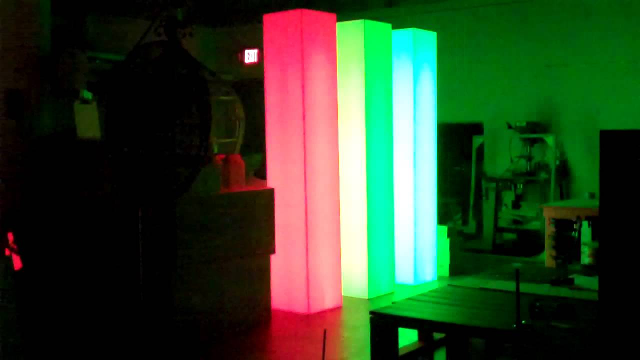& DJ LED Multi Color Light Column Towers MANUFACTURERS - YouTube azcodes.com