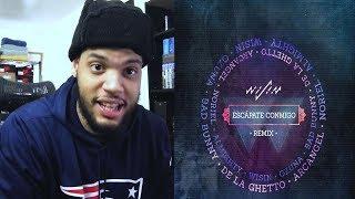 Wisin Esc pate Conmigo Remix Ozuna Bad Bunny De La Ghetto Arc ngel Noriel Almighty Reaccion.mp3