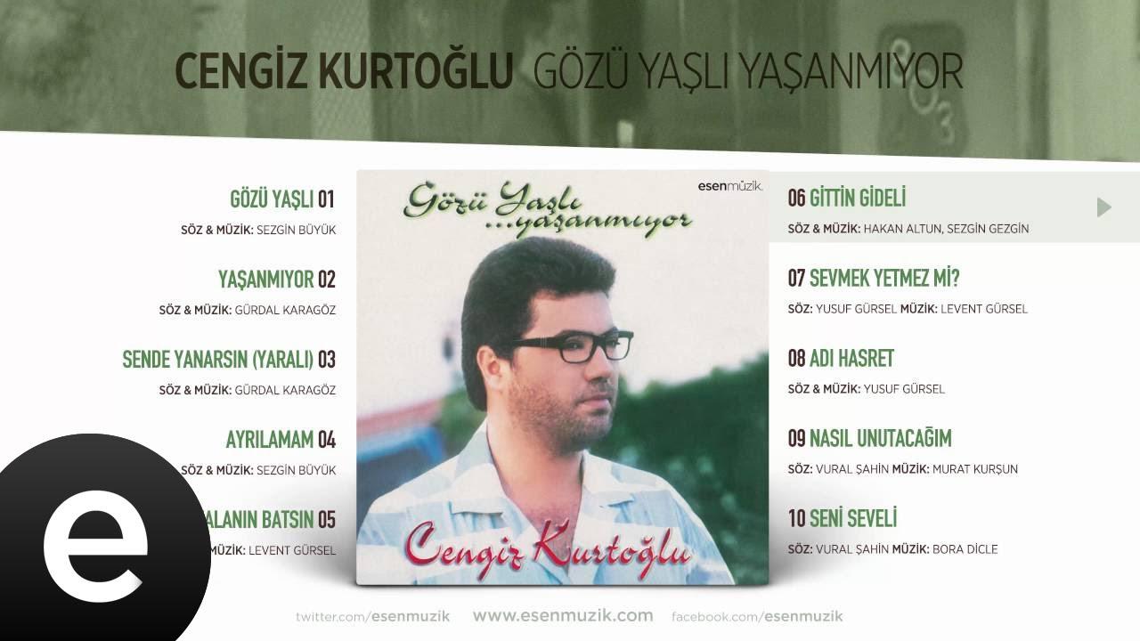 Gittin Gideli (Cengiz Kurtoğlu) Official Audio #gittingideli #cengizkurtoğlu - Esen Müzik