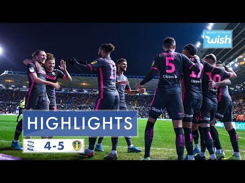 Highlights | Birmingham City 4-5 Leeds United | 2019/20 EFL Championship
