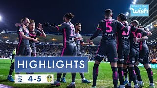 Highlights | Birmingham City 4-5 Leeds United | 2019/20 EFL Championship