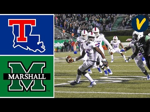 Louisiana Tech vs Marshall Highlights | Week 12 | College Football | 2019