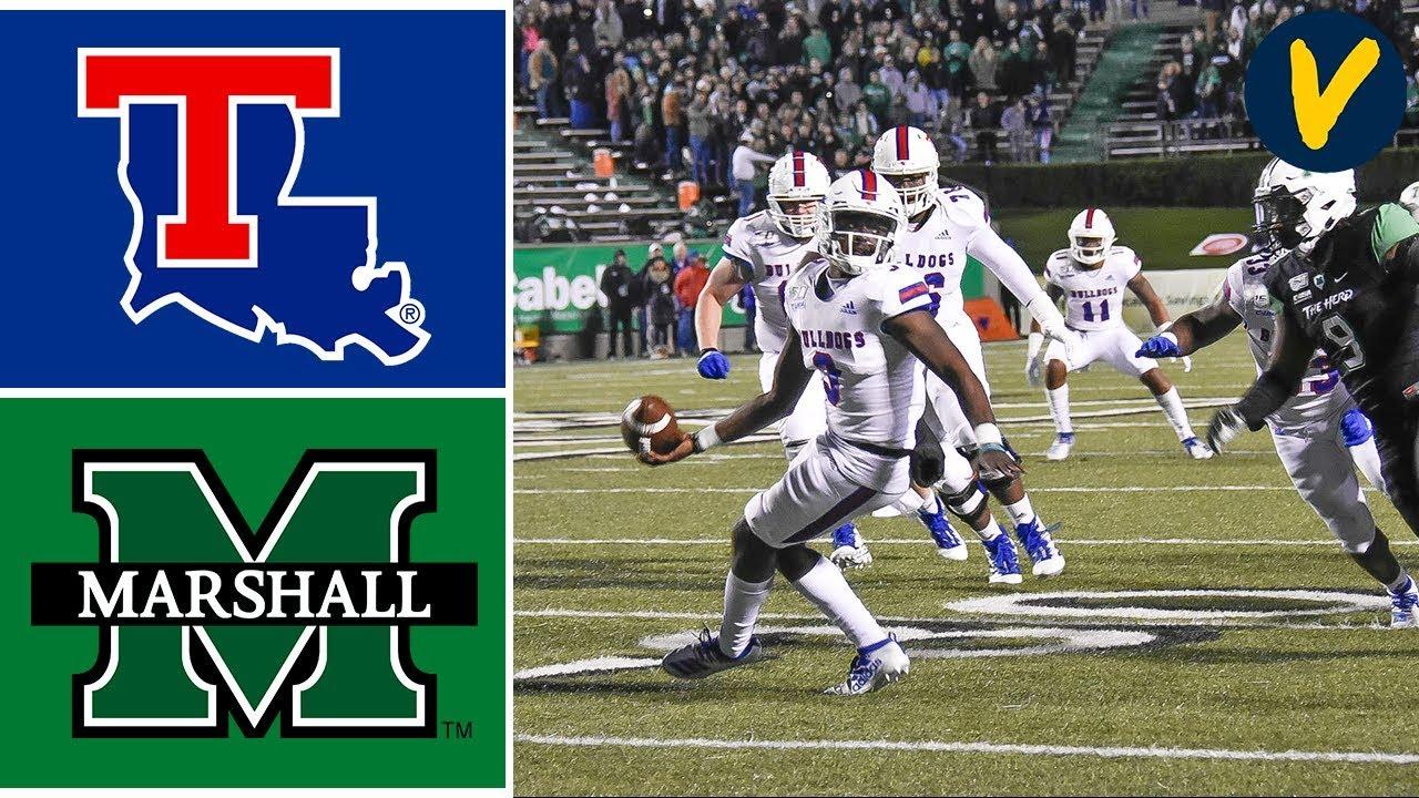 Louisiana Tech Vs Marshall Highlights Week 12 College Football 2019 Youtube