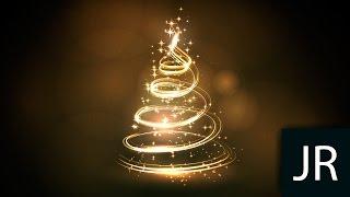 Christmas tree in Adobe illustrator / Как рисовать векторную графику / Уроки