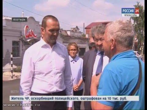 Михаил Игнатьев побывал с рабочей поездкой  в Алатырском районе