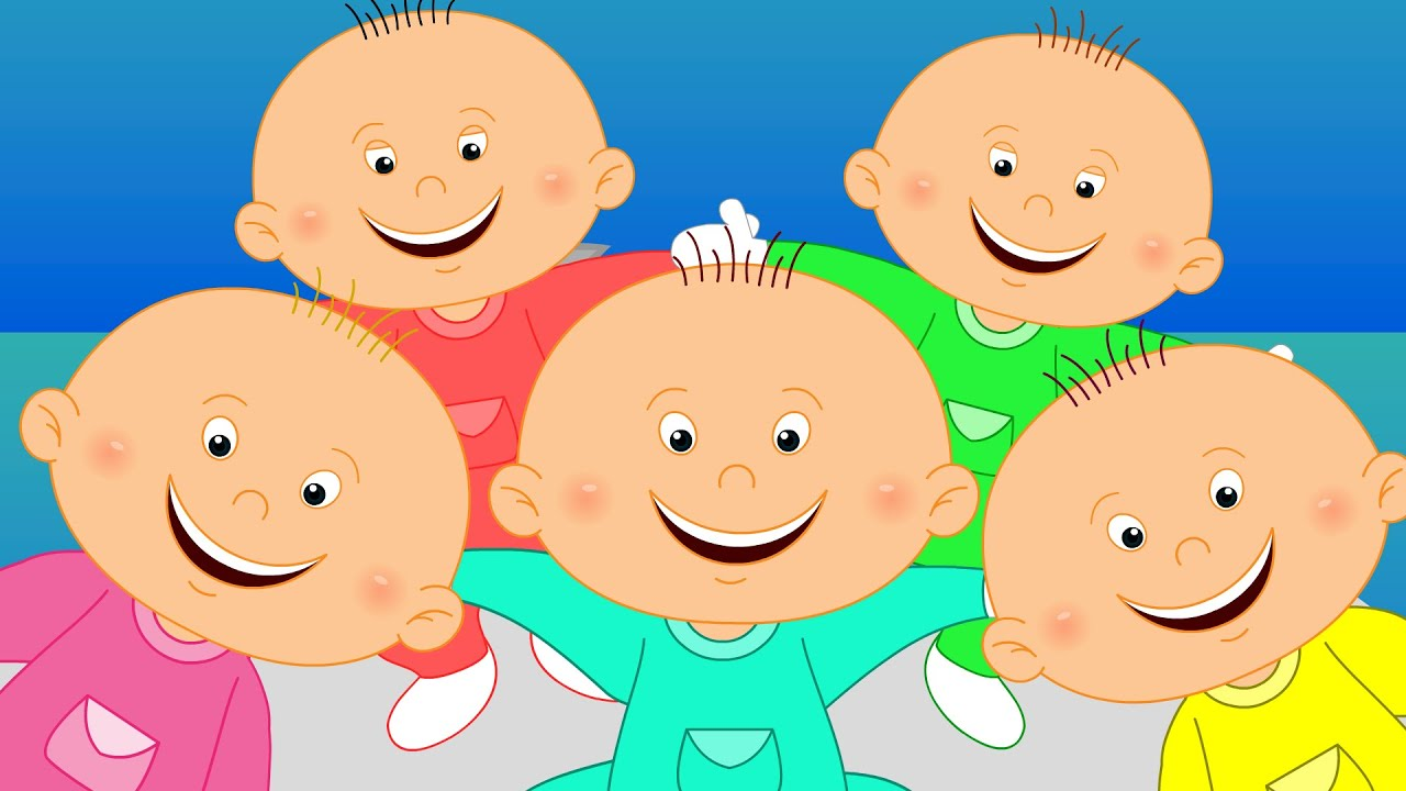 Five Little Babies - YouTube