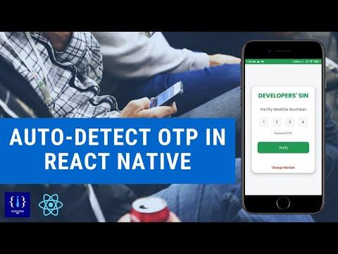 Auto-Detect OTP in React Native (react-native-otp-verify)