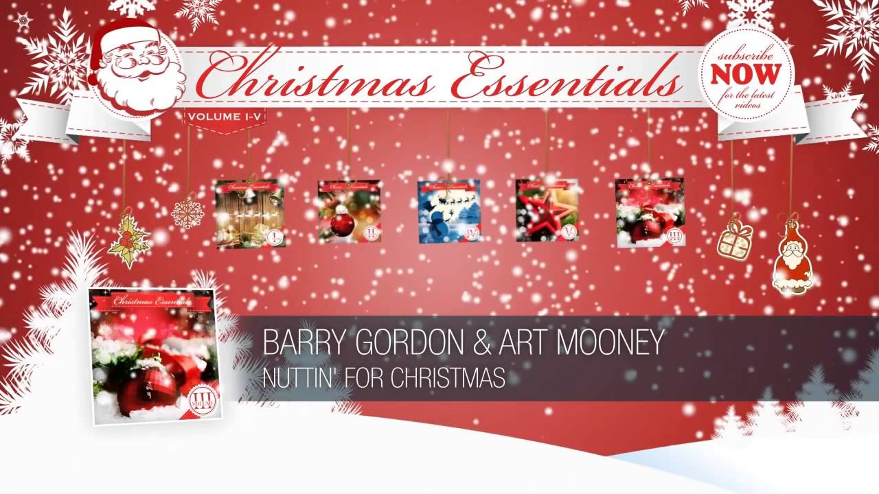 Barry Gordon & Art Mooney - Nuttin' for Christmas - YouTube