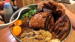【大食い】SUSURU君と麺酒やまの【デカ盛り】 いくがきいもこ 検索動画 28