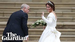 First glimpse of Princess Eugenie's wedding dress