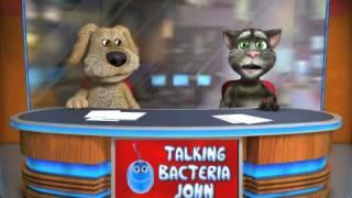 Talking Tom & Ben singing Baby Blue eyes