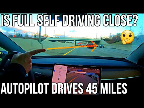 Tesla's Autopilot conquers intimidating highway and inner city trip with ease