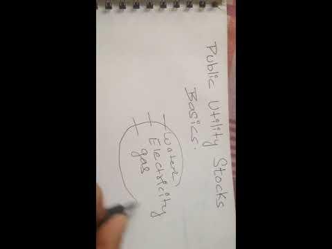 Public utility stocks