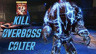 Fallout 4 Nuka World - Kill Overboss Colter - How to get Thirst Zapper and Overboss Power Armor