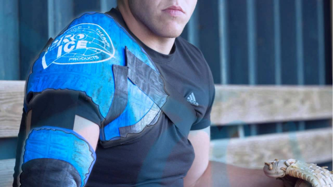 Pro Ice Cold Therapy Wrap, Pitchers Kit, Prevent Overuse and Repetitive Stress Injuries to the Pitching Arm