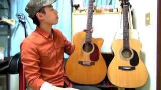 ギターレッスン【1万円のアコギと20万円のアコギ】 thumbnail