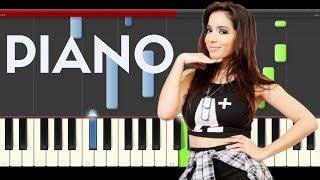 Major Lazer Anitta Sua Cara Piano Midi tutorial Sheet app Cover Karaoke