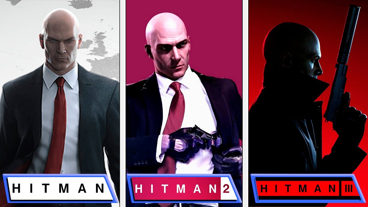 Download Hitman VS Hitman 2 VS Hitman 3 | Graphics Comparison | Classic Levels