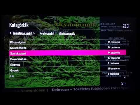 Magyar Telekom IPTV STB felhasználói felület (Cisco, Tatung) I.rész