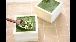 【スイーツレシピ】 升の抹茶ティラミス Matcha tiramisu in Masu(Japanese wood container)