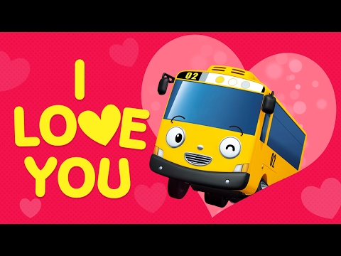 Valentine's Day Song for Kids l Skidamarink l Nursery Rhymes l Tayo the Little Bus