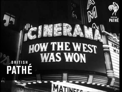 """How The West Was Won"" - Hollywood Premiere (1963)"