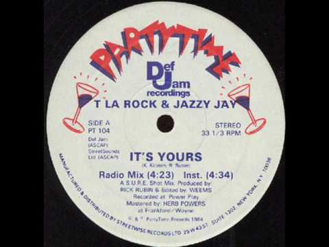 T La Rock - Its Yours Scratch Party Death Mix (Instrumental)