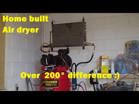 DIY Compressor Air Dryer