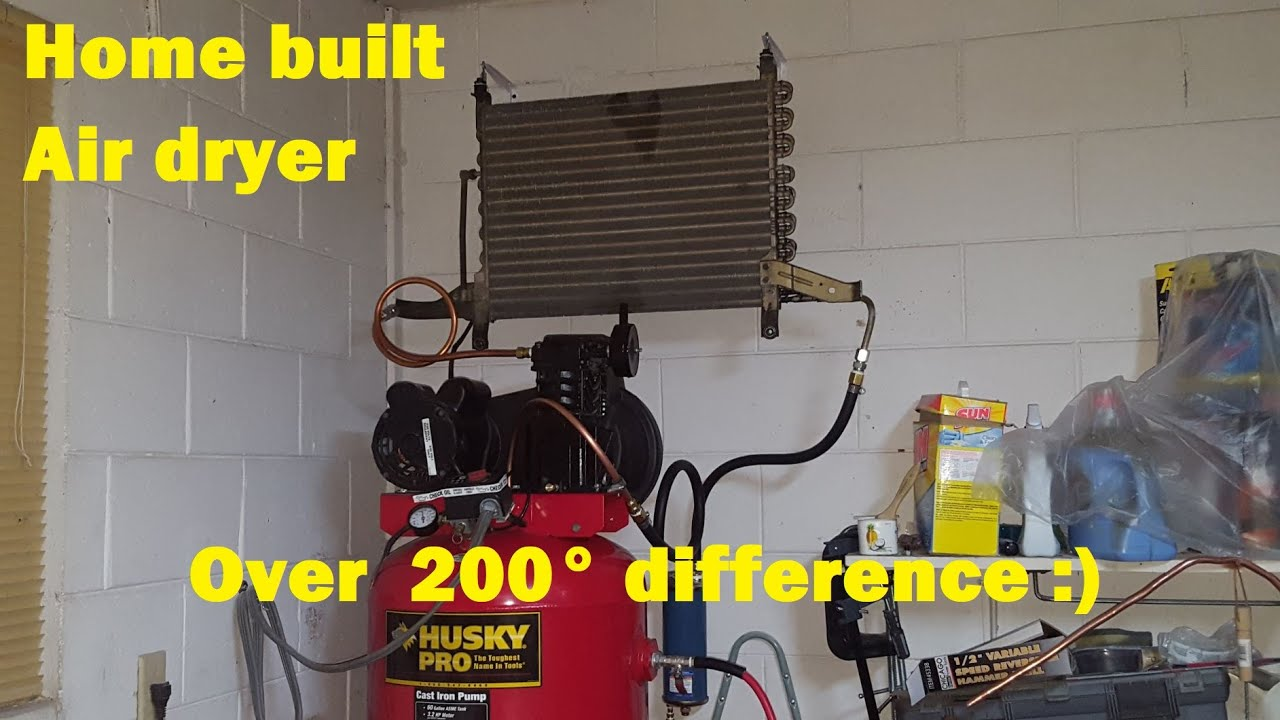 DIY Compressor Air Dryer - YouTube