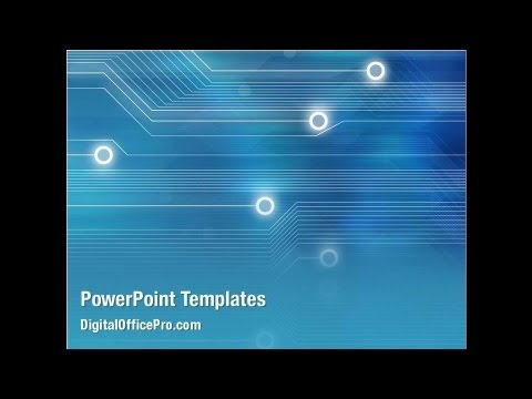 Abstract Technology Powerpoint Template Backgrounds