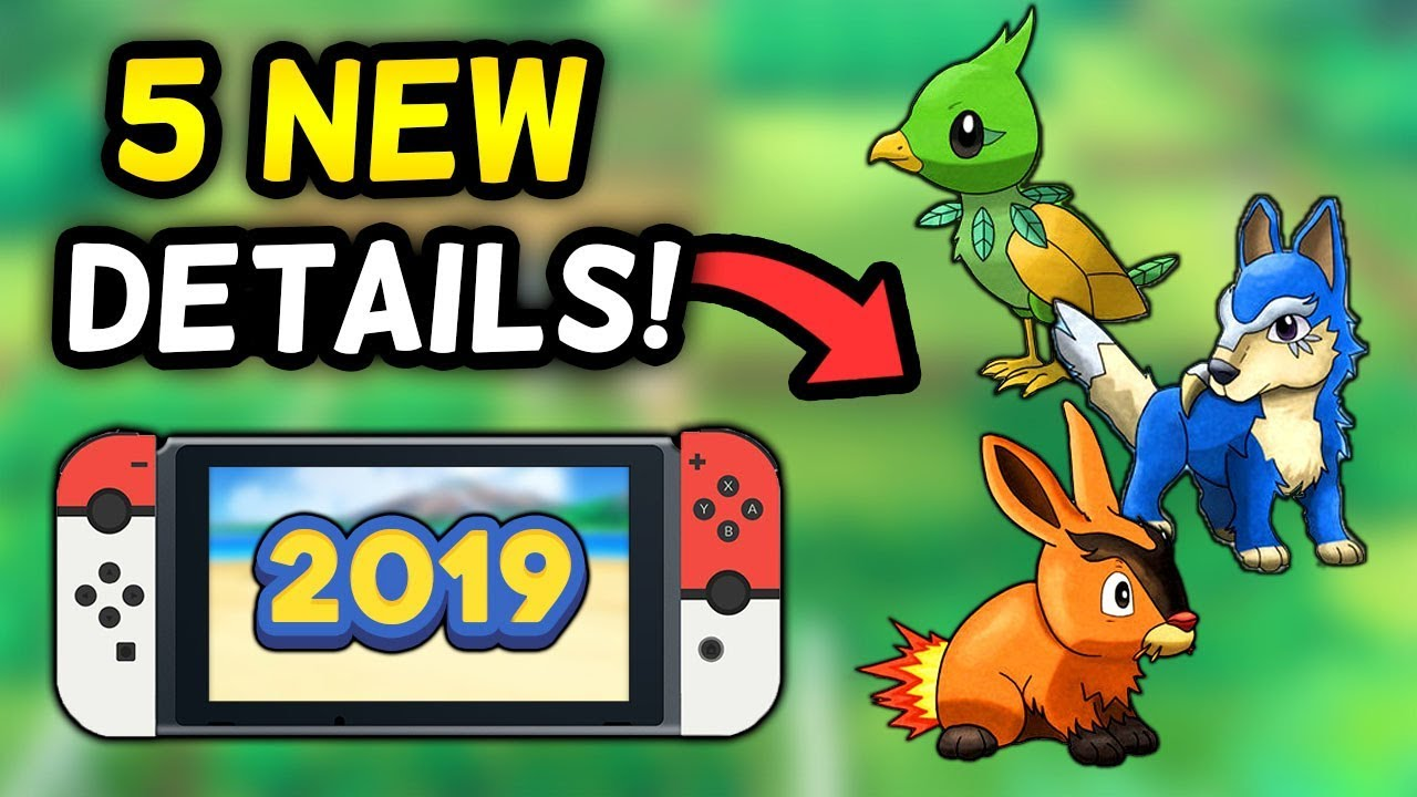 5 NEW DETAILS on Pokémon's 2019 Core RPG for Nintendo Switch!