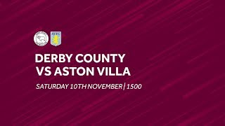 Derby County 0-3 Aston Villa | Extended highlights