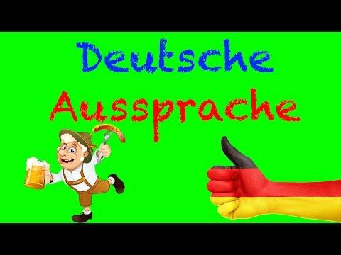 Deutsche für Anfänger lernen – deutsche Aussprache von R ([r], [x], [a] an verschiedenen Positione