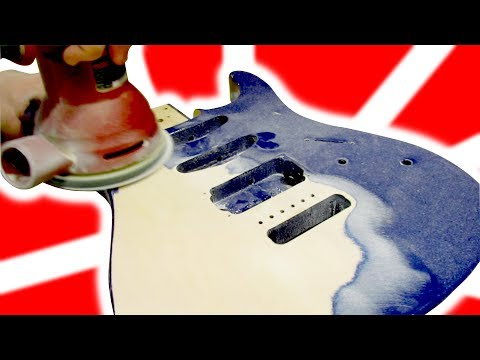 Repaint and Rebuild a Guitar