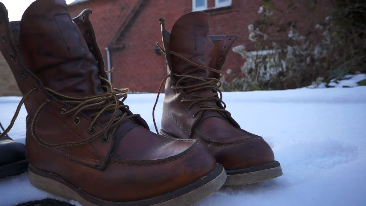 Red Wing Boots for sale. - YouTube