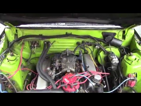 1981 Ford Fairmont wagon 5.0 Cold start.