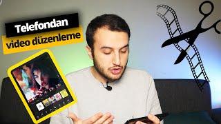YouTuber'lar gibi video yapmak! - Mobil Video Düzenleme Uygulamaları screenshot 1