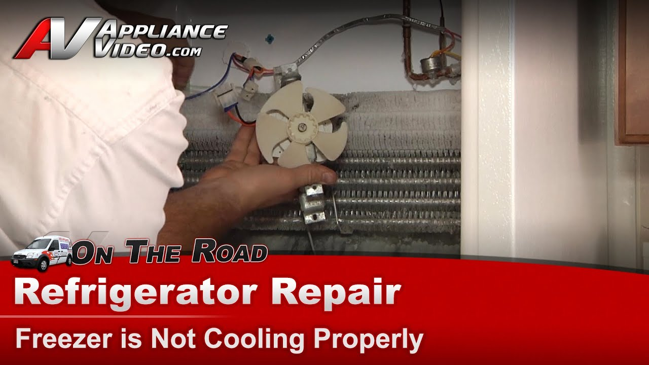 hotpoint ge rca refrigerator repair and diagnostic freezer is not cooling properly [ 1280 x 720 Pixel ]