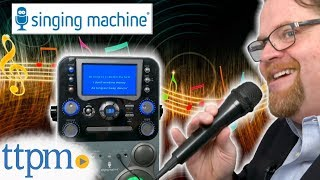 Singing Machine Classic Series Karaoke System from The Singing Machine Company
