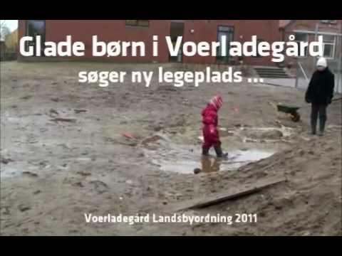 Glade børn i Voerladegård Børnehave søger ny legeplads. Stem gratis se nedenfor