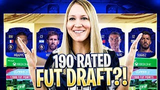 FIFA 19 190 RATED HIGHEST RATED FUT DRAFT CHALLENGE!!