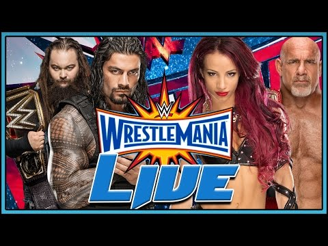 WWE Wrestlemania 33 Live Full Show April 2nd 2017 Live Reactions Full Show