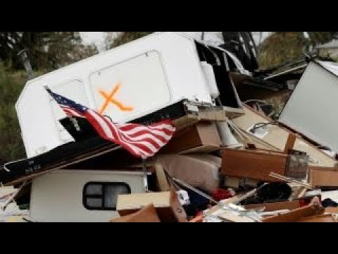 Could Irma, Harvey recovery boost economy, stocks?